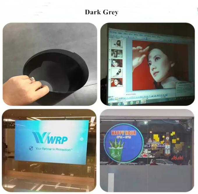 High Definition Holographic Window Film , Video Based Projector Screen Film