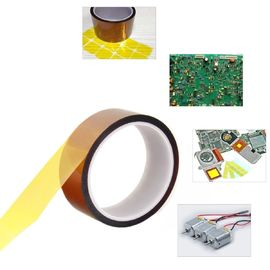 China Self Adhesive Tawny Kapton Polyimide Tape , Electric Task Kapton Polyimide Film Tape factory