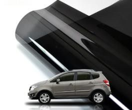 China Black Privacy Auto Glass Protection Film Solar Protection 6m X 50cm VLT Size With Scraper factory
