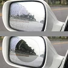 Clear Anti Fog Mirror Film Roll , Hydrophobic Mirror Cling Window Film