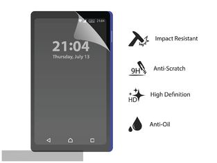 Self Healing Phone Film Protector , Small Size Touch Screen Protector Film