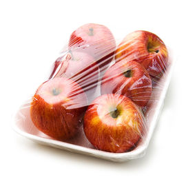 China Safety Apple Cling Film Food Wrap Transparent Durable For Preventing Channeling Flavour factory