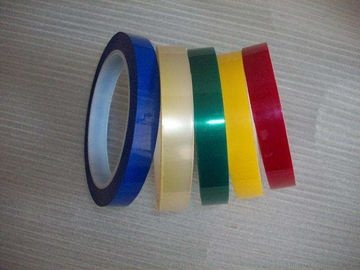 Heat Resistant	thermal resistance insulation Durable Single Side Amber color Adhesive Polyester PET Tape