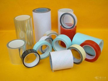 China Double Sided Colorful Heat Resistant High Adhesion Acrylic Polyester anti slip Tape For Banner factory