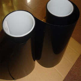 China Heat Resistant	thermal resistance insulation Durable Single Side Amber color Adhesive Polyester PET Tape factory