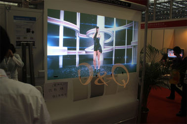 Holographic Projection Film Display For Advertising Window TV Spectaculars celebrity keynote addresses and fashion show