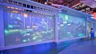Non Adhesive Transparent Holographic Projection Film , No Glue Glass Projection Film supplier