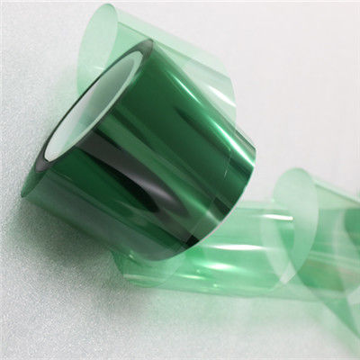 Heat Resistance For Masking PCB 3D Printed No Residue glue Green Silicone PET Adhesive Tape supplier