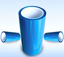 Blue Anti Static Pet Film , Tensile Strength Heat Transfer Film 12 - 150mic Thickness supplier